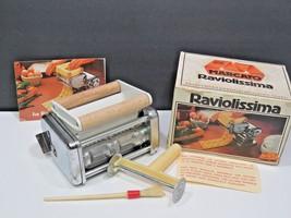 Marcato Raviolissima Ravioli Attachment for Atlas Pasta Machine Vintage  - $31.68