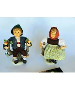 Hummel Figurines 950 Apple Tree Girl & 951 Apple Tree Boy Porcelain Doll... - $225.00