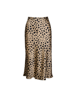 Women Realisation Par The Naomi Wild Things Leopard Silk Midi Skirt - $158.00