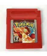 Pokémon Red Version Nintendo Gameboy OEM Video Game Original Vintage B20-23 - $29.87