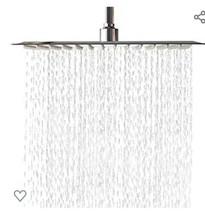 New In Box Lordear Bath Rainfall Shower Head Ceiling Mount Chrome Retail... - $23.02