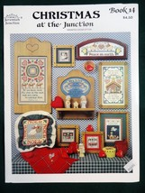 Christmas at the Junction Cross Stitch Pattern Booklet Jeremiah 14 Relig... - $8.95