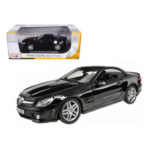 2010 2011 Mercedes SL65 SL 65 Coupe AMG Black 1/18 Diecast Model Car by Maisto 3 - $43.99