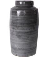 Tea Jar Vase Colors May Vary Iron Gray Varying New Handmade - $399.00