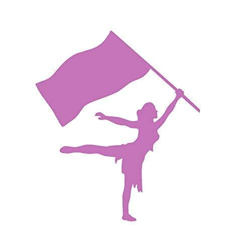 "Primary image for COLOR GUARD GIRL - size: 4"", color: LILAC - Windows, Walls, Bumpers, Laptop, Loc"