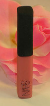 New NARS Lip Gloss Deep Throat .14 oz / 4 g Travel Size Tube Hot Pink Li... - $8.99