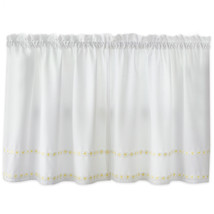 Daisy Mae Floral Kitchen Window Curtain Tier Pair, Valance or Swag Pair ... - $13.99+
