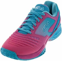 Fila Women's Axilus Energized Tennis Sneakers, 8 M, Raspberry Rose, Blue... - $97.95