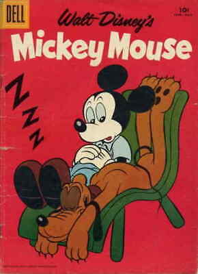 Mickey Mouse (Walt Disney's…) #60 VG; Dell | low grade comic - save on shipping
