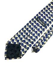 New KENNETH COLE New York TIE Navy Gold Silk Men's Neck Tie - $13.95