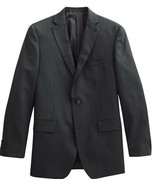 Marc Anthony Slim Fit Suit Jacket 100% Light Wool Charcoal Gray - $99.99