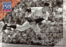 2019 Topps 150 Years Of Baseball Greatest Seasons #GS19 Whitey Ford > Ya... - $2.75