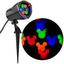 Gemmy Disney Mickey Mouse Ears Fantastic Flurry LED Multi Projection Spo... - $18.80