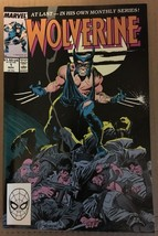 Wolverine #1 Marvel Comic Book 1988 VF 8.0 / 8.5 Condition First WOLVERI... - $39.12