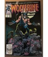 Wolverine #1 Marvel Comic Book 1988 VF 8.0 / 8.5 Condition First WOLVERI... - $39.12
