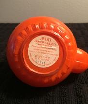 70s Avon Little Teapot with gold top and handle bath foam bottle (Lemon Velvet) image 4