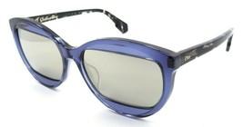 Christian Dior Sunglasses Dior Mania 2 889UE 57-16-150 Blue Havana / Grey Mirror - $131.32