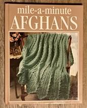 Crochet Treasury Mile A Minute Afhgans Crochet Afghan Patterns NEW - $14.01