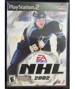 N) NHL 2002 (Sony PlayStation 2, 2001) Video Game - £3.75 GBP