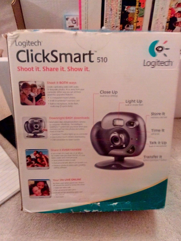 LOGITECH CLICKSMART 510 CAMERA TREIBER WINDOWS 7