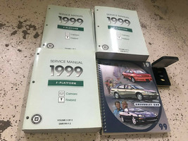 1999 Chevy Camaro Pontiac Firebird Service Shop Repair Manual Set Oem Factory + - $118.75