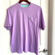 Tommy Bahama Mens Bali summer plum Premium Lux SS T-Shirt Supima Cotton $49 NWT - $26.50