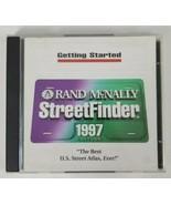 Rand McNally StreetFinder Installation PC CD-ROM 1997 - $12.19