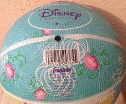 Franklin Sports DISNEY PRINCESS MINI SIZE Rubber Basketball New - Toddler Size image 3