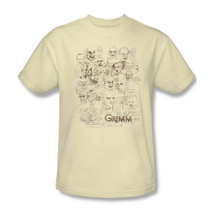 Grimm T-shirt Free Shipping Wesen TV show 100% cotton graphic tee nbc675 image 2