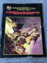 Dungeon Master Screen & Master Index Advanced D&D 9504 INDEX ONLY - $22.08
