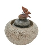 Stone Rock Cairn Water Fountain – Indoor Table Fountain - $44.53