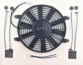 "A-Team Performance 10"" Electric Reversible Radiator Cooling Fan 12V 850CFM image 2"