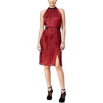 Guess Essie Cutout Colorblocked Dress (X Large, LT/PAS RED) - $62.99
