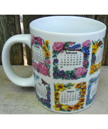 1999 Flowers of the Month by Croft for Westwood Mug Cup - $12.99
