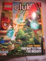 LEGO CLUB MAGAZINE JANUARY FEBRUARY 2013 LEGO CHIMA THE BATTLE FOR CHI B... - $9.99