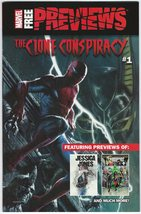Marvel Previews Promo Comic Book The Clone Conspiracy #1 October 2016 - $3.95