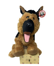 "Peek A Boo Toys Plush  Large 16"" German Shepherd Dog Super Soft Stuffed ... - $16.50"
