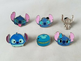Disney Trading Pins Official Lilo & Stitch Theme Set of 6 Collectible - $17.43