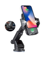 Automatic Infrared QI Wireless Charger Air Vent Car Mount 10W Fast Charg... - $37.53