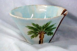 Tabletops Unlimited Baja Soup Cereal Bowl Stoneware Palm Trees - $11.08