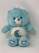 "Care Bears Plush Glow in the Dark BEDTIME BEAR 11"" Blue Moon Stuffed Animal - $13.65"