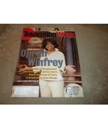 Television Week Oprah Winfrey 20 years NAB Award; Maya Angelou April 200... - $13.99