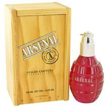 Arsenal Dark Red By Gilles Cantuel Eau De Parfum Spray 3.4 Oz - $45.00