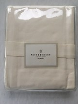 Pottery Barn Sailcloth Panel With Tie Back Cotton Natural Color New In Package - $29.69
