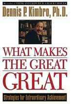 What Makes the Great Great: Strategies for Extraordinary Achievement [Paperback] image 2