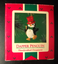 Hallmark Keepsake Christmas Ornament 1985 Dapper Penguin Original Box - $9.99