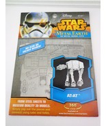 Fascinations AT-AT Disney Star Wars Metal Earth 3D Metal Model Kits Age ... - $11.75
