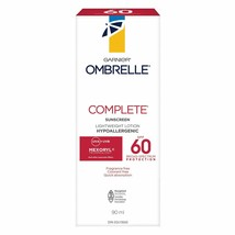 2 PACK Garnier Ombrelle Complete SPF 60, 200ml Body And Face Sunscreen Lotion - $48.46