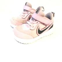 Nike Revolution Girls Shoes Color Pink/Black Size 6c. - $22.24