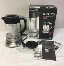 KRUPS Incorporated Tea Infuser Electric Glass Kettle 1.2-Liter FL700D51 - €164,47 EUR
